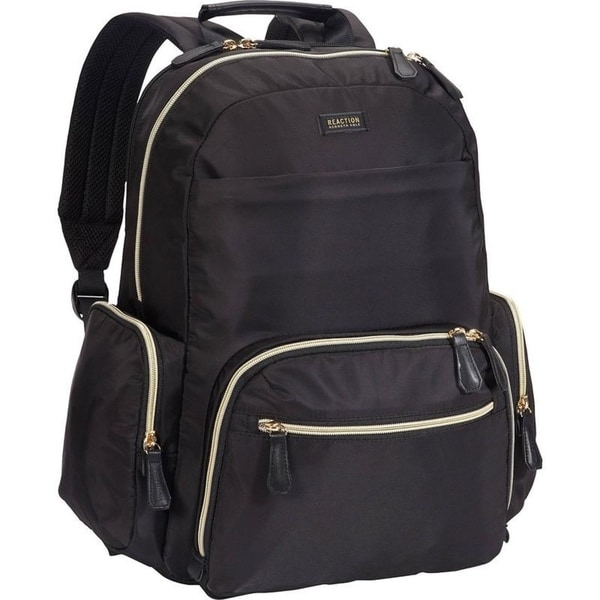 Kenneth Cole Reaction 'Sophie' Women's Silky Nylon Dual Compartment 15.6in Computer Business Backpack With Anti-Theft RFID
