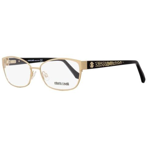 Roberto Cavalli RC5024 Buti 028 Mens Black/Gold 56 mm Eyeglasses