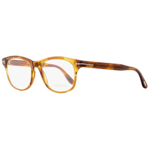 230f4e2fcac6a Tom Ford TF5399 050 Mens Transparent Brown Melange 52 mm Eyeglasses -  Transparent Brown Melange