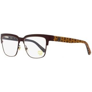 MCM MCM2103 211 Mens Brown/Cognac Visetos 53 mm Eyeglasses - Brown/Cognac Visetos