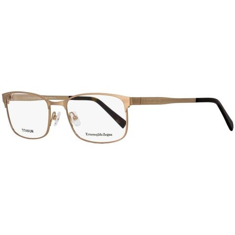 Ermenegildo Zegna EZ5049 028 Mens Gold/Havana 54 mm Eyeglasses