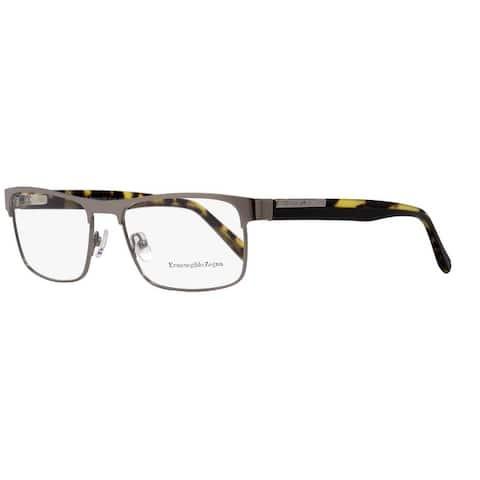 Ermenegildo Zegna EZ5031 008 Mens Gunmetal/Havana 54 mm Eyeglasses