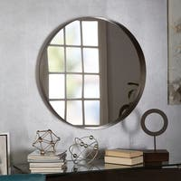 Eagan Round Metal Wall Mirror