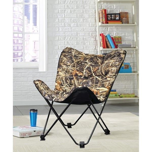 Shop Kids Realtree Camoflage Butterfly Chair Free