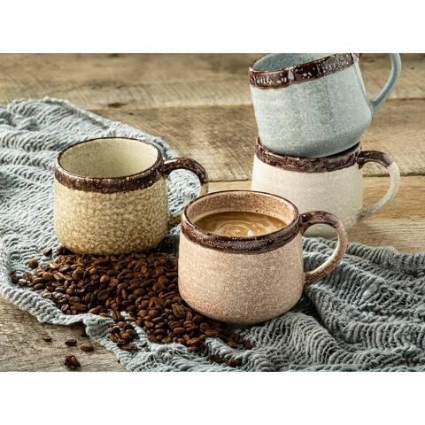 Sango Halford Mixed Set of 4 Assorted Mugs