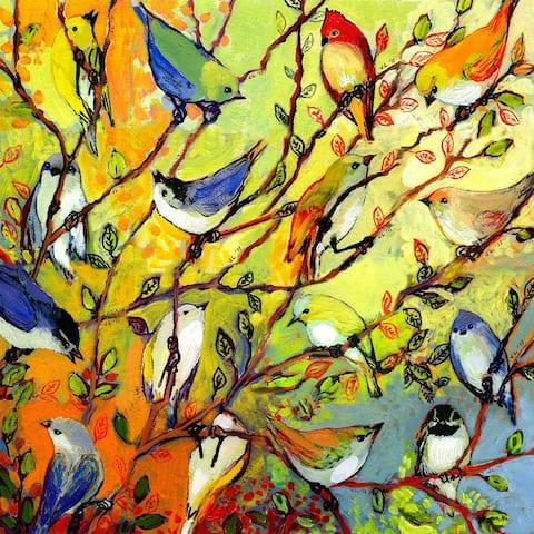 Birds Of A Feather Indoor/Outdoor Art - Multi-color