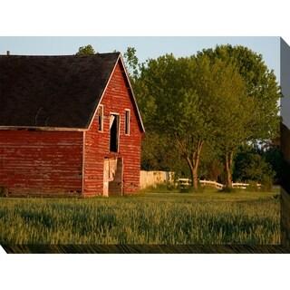 Big Red Barn Indoor/Outdoor Art - Multi-color