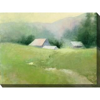 Field Of Green Indoor/Outdoor Art - Multi-color