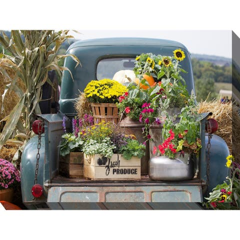 Fresh Produce Indoor/Outdoor Art - Multi-color