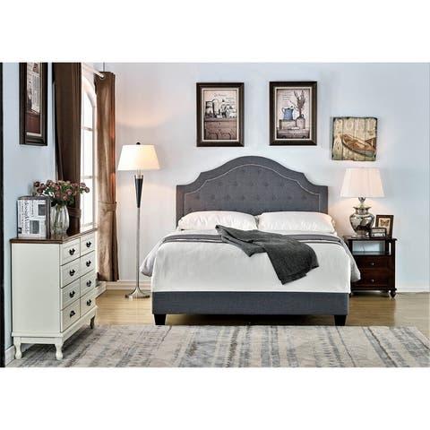 Sklar Upholstered Panel Bed