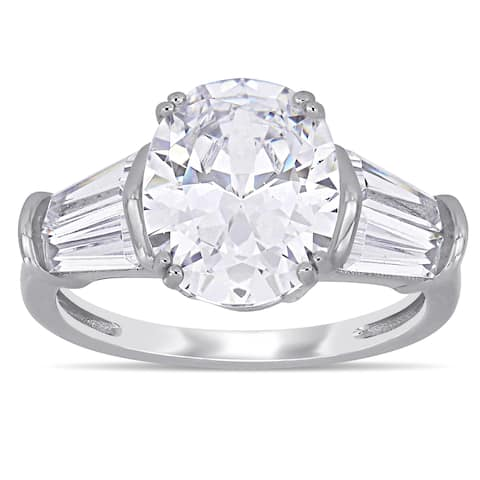 e8b120c5463d8 Buy Oval Cubic Zirconia Rings Online at Overstock | Our Best Rings Deals