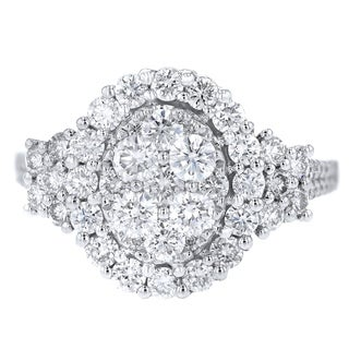 18k White Gold Inner Circle 1.70ct Diamond Ring