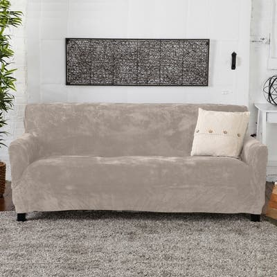 White Sofa Couch Slipcovers