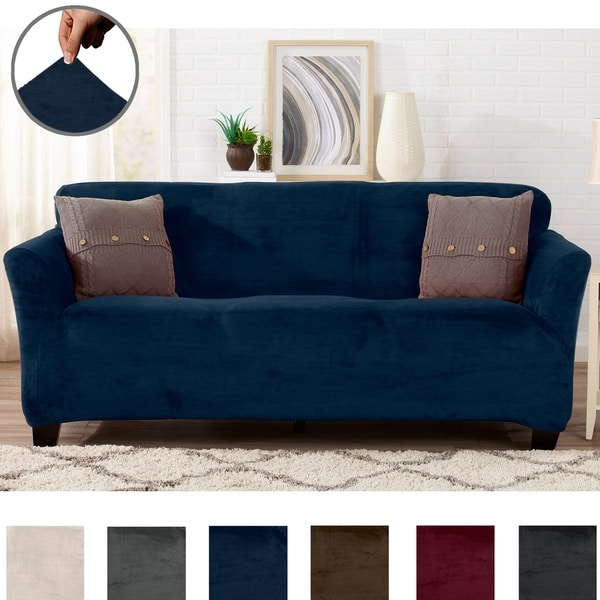 Buy Blue Sofa & Couch Slipcovers Online at Overstock | Our ...