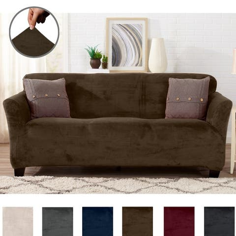 Buy Brown Sofa & Couch Slipcovers Online at Overstock | Our ...