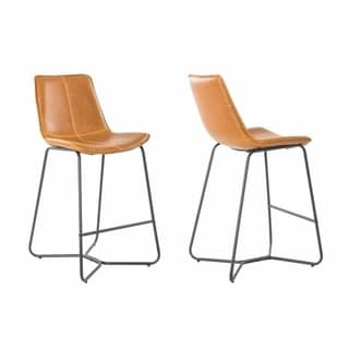 Carbon Loft Patsy Vintage Slope 26-inch Bar Stool (Set of 2)