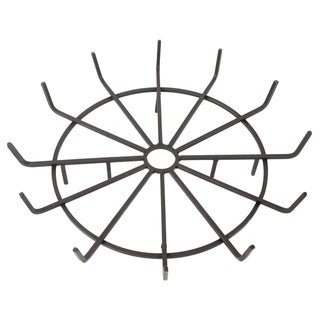 "Pleasant Hearth OFP32WG 32"" Wagon Wheel Steel Wood Grate"