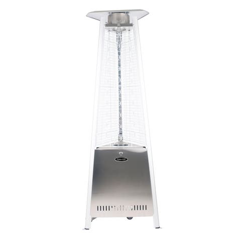 "Dyna Glo DGPH302SS 42,000 BTU 73"" Stainless Steel Pyramid Flame Patio Heater"