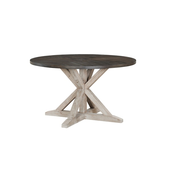 Standard Round Table.Shop Standard Furniture Jefferson Round Dining Table Distressed