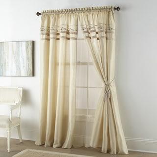 Link to Grand Avenue Maya 4 piece Luxury Window Set Similar Items in Window Treatments