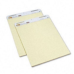 3M Post-it Self-Stick Yellow Ruled Easel Pads