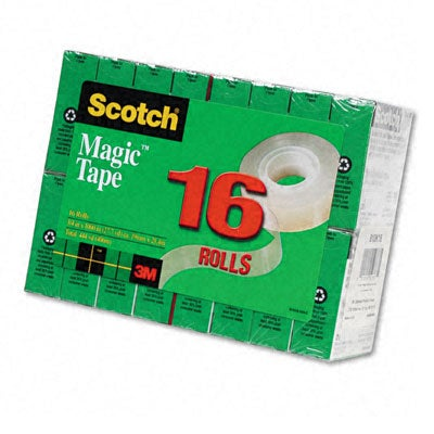 3m Scotch Magic Tape Rolls Pack Of 16 Free Shipping