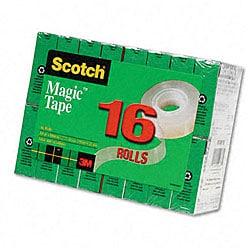 3M Scotch Magic Tape Rolls (Pack of 16)