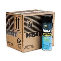 Misty Heavy-Duty Adhesive Spray - 12/Carton - Thumbnail 1
