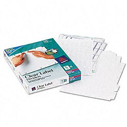 Avery Index Maker White Dividers - 25 Sets/Box