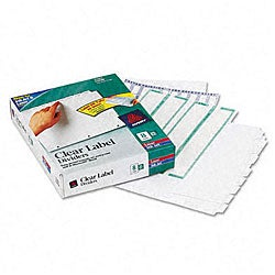 Avery Recycled Plain 5-Tab Buff Dividers with Buff Tabs - 36 Sets/Box