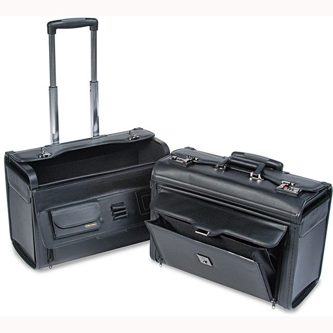 Computer/Catalog Case on Wheels