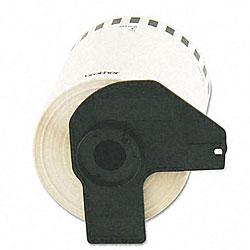 Brother Die-cut 4x3-inch Black/ White Laser Printer Labels