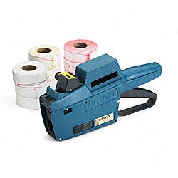 Model 22-6 1-Line/6-Char. Pricemarker Kit - Marker Gun/Ink Roll/9 Rolls Labels