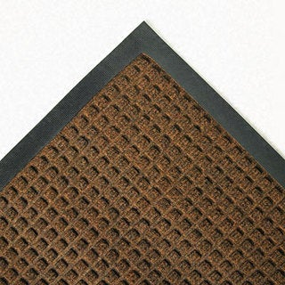 Super-Soaker Dark Brown Wiper Mat with Gripper Bottom