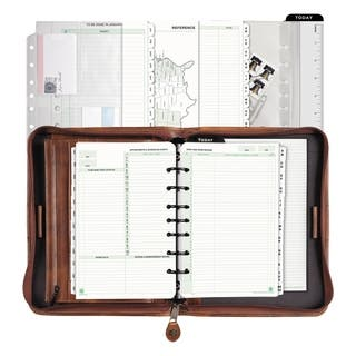 Brown Day-Timer Personal Organizer Starter Set|https://ak1.ostkcdn.com/images/products/2692528/P10885135.jpg?impolicy=medium