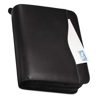 Day-Timer Verona Leather Starter Set, 8 1/2 x 11, Black Cover