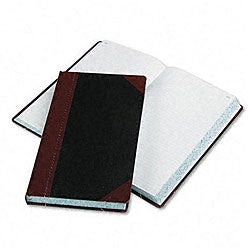 Esselte Pendaflex Record/Account Book with Black-and-Red Cover - 500 Pages
