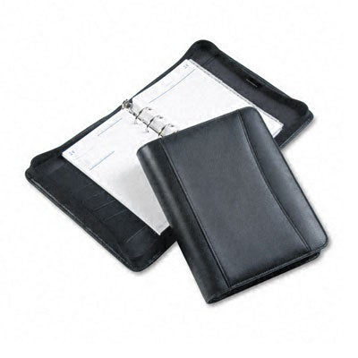 Franklin Black Leather Undated Day Planner Deluxe Starter Set