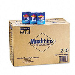 Maxithins Thin - 250 Individually Boxed Napkins/Carton