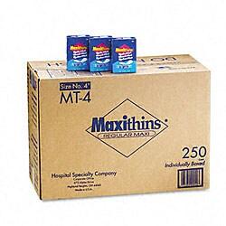 Maxithins Thin - 250 Individually Boxed Napkins/Carton