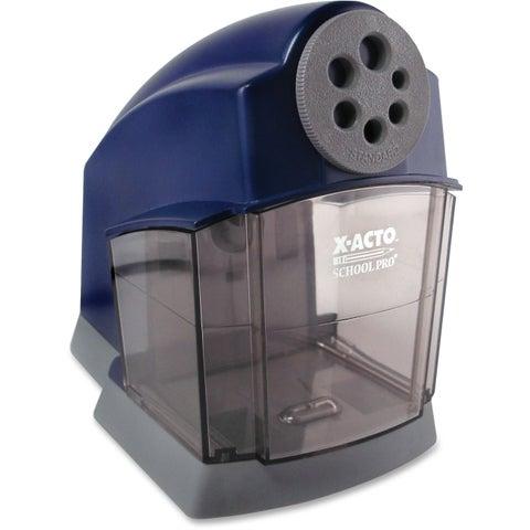 X-ACTO Blue/Gray School Pro Electric Pencil Sharpener