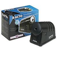 X-ACTO Powerhouse Desktop Electric Pencil Sharpener, Black