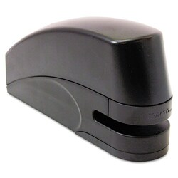 X-ACTO Electric Stapler with Anti-Jam Mechanism, 20-Sheet Capacity, Black