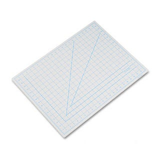 "X-ACTO Self-Healing Cutting Mat, Nonslip Bottom, 1"" Grid, 18 x 24, Gray"