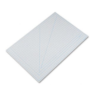 "X-ACTO Self-Healing Cutting Mat, Nonslip Bottom, 1"" Grid, 24 x 36, Gray"