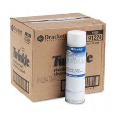Twinkle Stainless Steel Cleaner and Polish - 12/Carton - Thumbnail 1