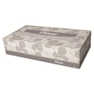 Kleenex White 2-ply Tissue Dispenser Pop-up Box - 125/ Box (48 Boxes per Carton)