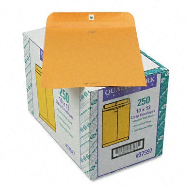 Clasp 10x13-inch Envelopes (Pack of 250)