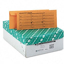 Kraft Interoffice Envelopes - Printed One Side (Box of 500)