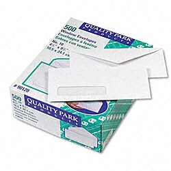 White Left-window #10 Envelopes (Case of 500)
